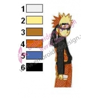 Naruto Uzumaki Embroidery Design 04