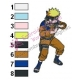 Naruto Uzumaki Embroidery Design