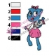 Nicole The Amazing World of Gumball Embroidery Design 06