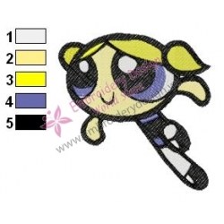 Powerpuff Embroidery Cartoon 15