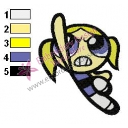 Powerpuff Embroidery Cartoon 19