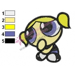Powerpuff Embroidery Cartoon 22