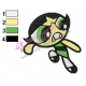 Powerpuff Embroidery Cartoon 26