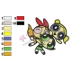 Powerpuff Embroidery Cartoon 68