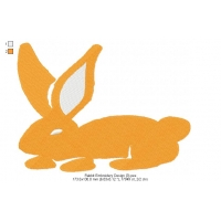 Rabbit Embroidery Design 3