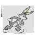Bugs Bunny Embroidery Cartoon_16