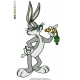 Bugs Bunny Embroidery Cartoon_19