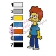 Rod Flanders Simpsons Embroidery