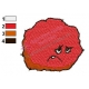 Sad Meatwad Aqua Unit Patrol Squad Embroidery Design