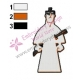 Samurai Jack Embroidery Design 02