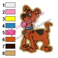 Scooby Doo Baby Embroidery Design 03