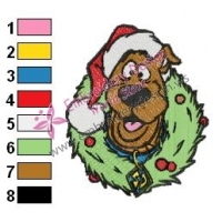 Scooby Doo Embroidery Design 04