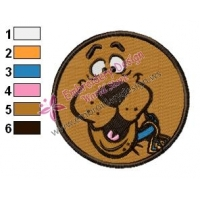 Scooby Doo Embroidery Design 15