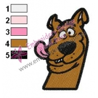 Scooby Doo Embroidery Design 18