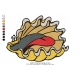 Shellfish Embroidery Design 01