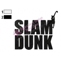 Slam Dunk Logo Embroidery Design 05