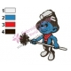Smurfs Embroidery Design 12
