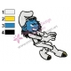 Smurfs Embroidery Design 14