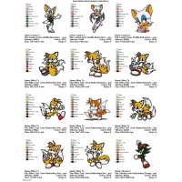 Sonic Embroidery Designs Collections 04