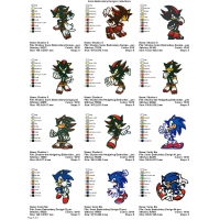 Sonic Embroidery Designs Collections 05