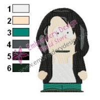 South Park Kids Embroidery Design 02