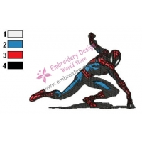 Spiderman Embroidery Design 03