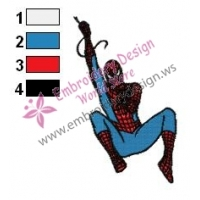 Spiderman Embroidery Design 07