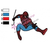Spiderman Embroidery Design 10