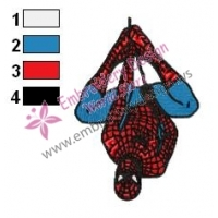 Spiderman Embroidery Design 11