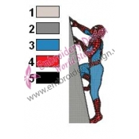 Spiderman Embroidery Design 12
