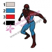 Spiderman Embroidery Design 13