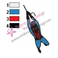 Spiderman Embroidery Design 18
