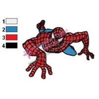 Spiderman Embroidery Design 19