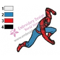 Spiderman Embroidery Design 20