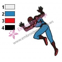 Spiderman Embroidery Design 21