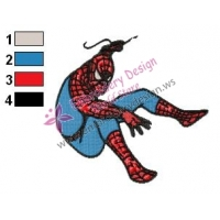 Spiderman Embroidery Design 22