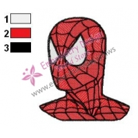 Spiderman Embroidery Design 26