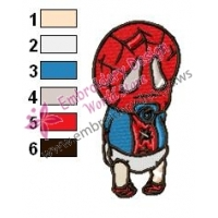 Spiderman Embroidery Design 27