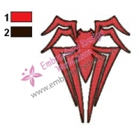 Spiderman Logo Embroidery Design 05