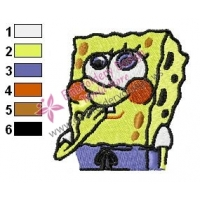 SpongeBob SquarePants Embroidery Design 1
