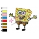 SpongeBob SquarePants Embroidery Design 18