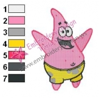 SpongeBob SquarePants Embroidery Design 19