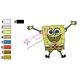 SpongeBob SquarePants Embroidery Design 20
