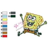 SpongeBob SquarePants Embroidery Design 25