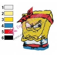 SpongeBob SquarePants Embroidery Design 27