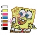 SpongeBob SquarePants Embroidery Design 39