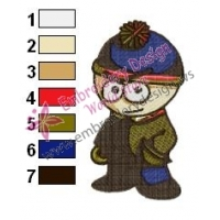 Stan South Park Embroidery Design 03