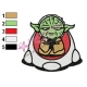 Star Wars Yoda Master 15 Embroidery Design