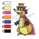 Swiper King Dora Embroidery Design