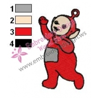 Teletubbies Po Embroidery Design 02